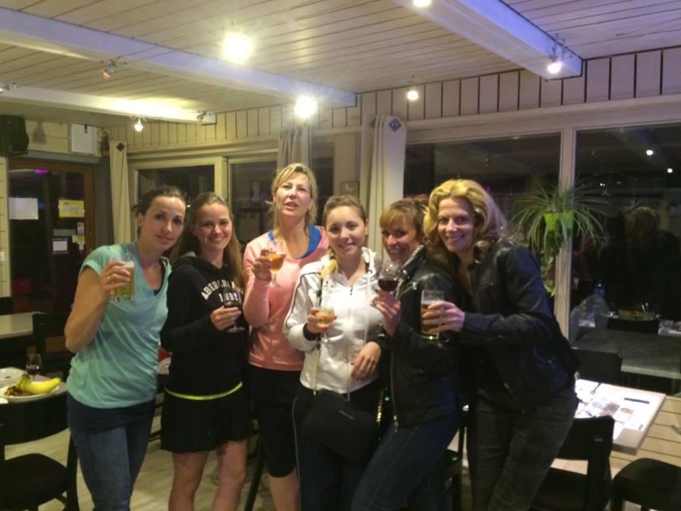 équipe interclubs dames actives 2016