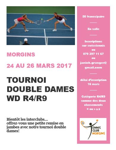 affiche double dames 2017